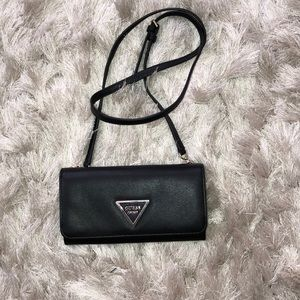 GUESS Crossbody Wristlet Bag